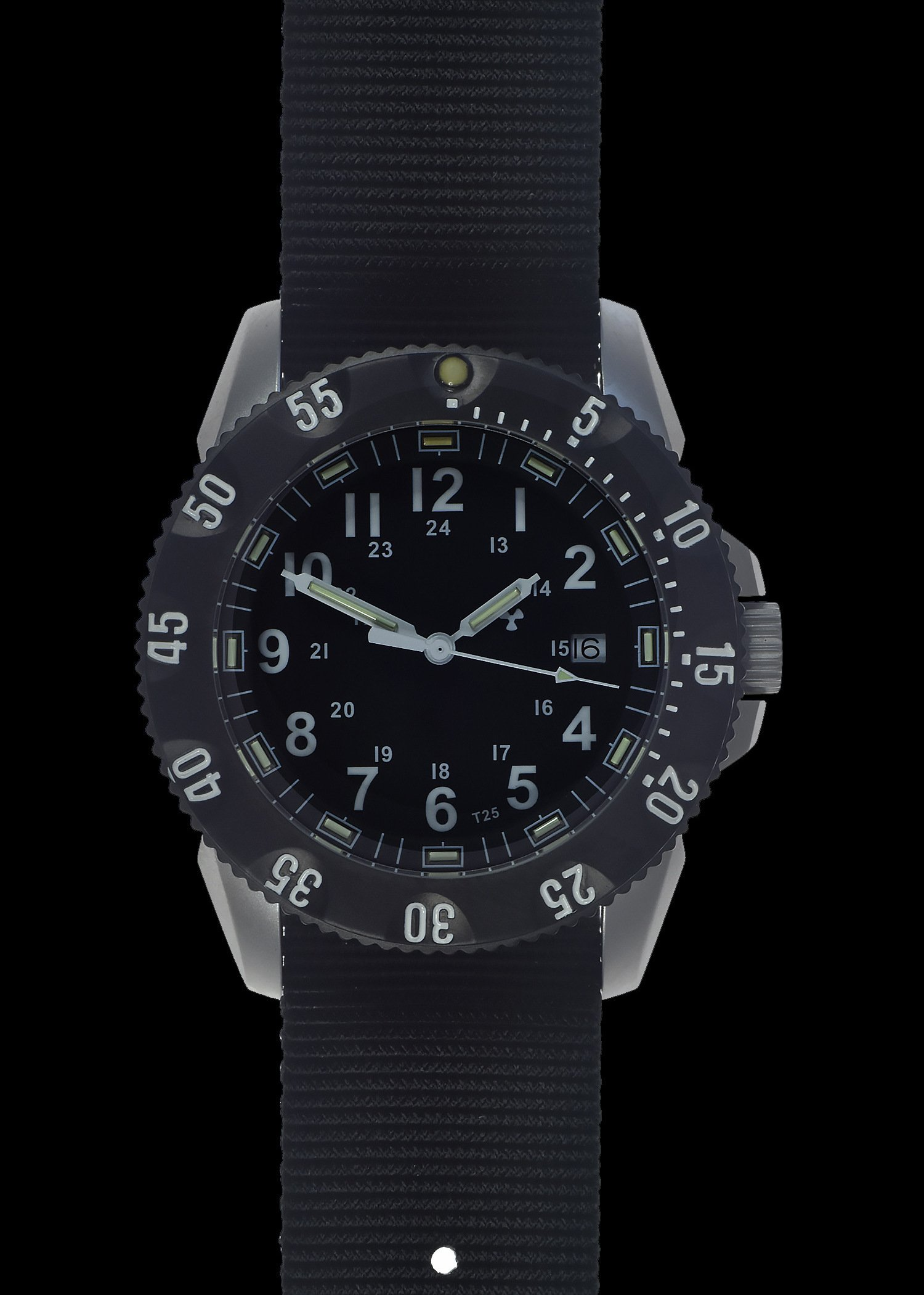 Водолазен часовник MWC TACTICAL 300m Quartz Tritium GTLS Military - MWC